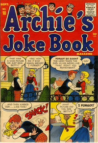 Cover Thumbnail for Archie's Joke Book Magazine (Archie, 1953 series) #18