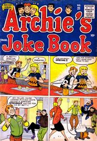 Cover Thumbnail for Archie's Joke Book Magazine (Archie, 1953 series) #21