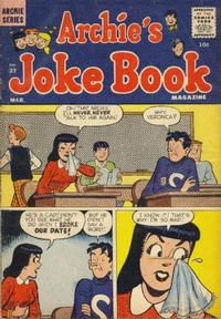 Cover Thumbnail for Archie's Joke Book Magazine (Archie, 1953 series) #27