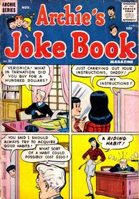Cover Thumbnail for Archie's Joke Book Magazine (Archie, 1953 series) #31