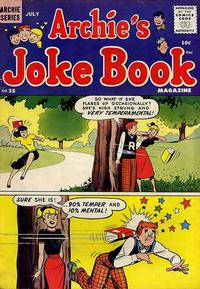 Cover Thumbnail for Archie's Joke Book Magazine (Archie, 1953 series) #35