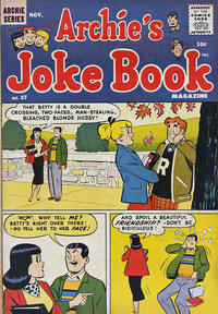 Cover Thumbnail for Archie's Joke Book Magazine (Archie, 1953 series) #37