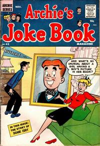 Cover Thumbnail for Archie's Joke Book Magazine (Archie, 1953 series) #43