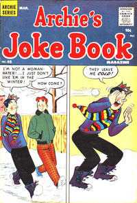 Cover Thumbnail for Archie's Joke Book Magazine (Archie, 1953 series) #45