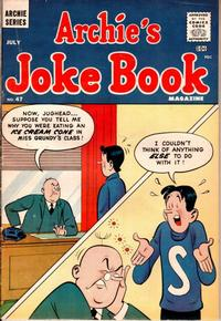 Cover for Archie's Joke Book Magazine (Archie, 1953 series) #47