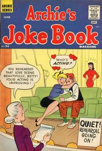 Cover Thumbnail for Archie's Joke Book Magazine (Archie, 1953 series) #54