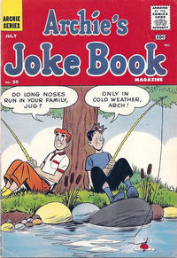 Cover Thumbnail for Archie's Joke Book Magazine (Archie, 1953 series) #55