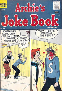 Cover Thumbnail for Archie's Joke Book Magazine (Archie, 1953 series) #56