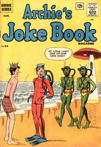 Cover Thumbnail for Archie's Joke Book Magazine (Archie, 1953 series) #64