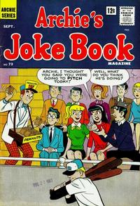 Cover Thumbnail for Archie's Joke Book Magazine (Archie, 1953 series) #73