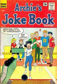 Cover Thumbnail for Archie's Joke Book Magazine (Archie, 1953 series) #74