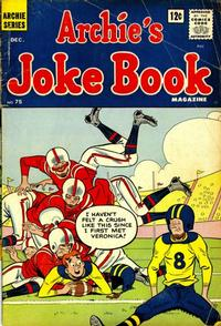 Cover Thumbnail for Archie's Joke Book Magazine (Archie, 1953 series) #75