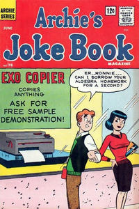 Cover Thumbnail for Archie's Joke Book Magazine (Archie, 1953 series) #78