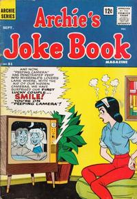 Cover Thumbnail for Archie's Joke Book Magazine (Archie, 1953 series) #81