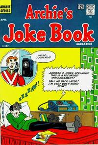 Cover Thumbnail for Archie's Joke Book Magazine (Archie, 1953 series) #87