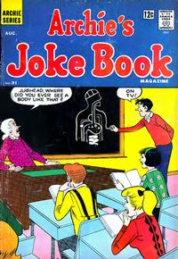 Cover Thumbnail for Archie's Joke Book Magazine (Archie, 1953 series) #91