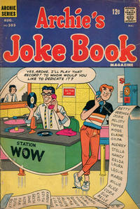 Cover Thumbnail for Archie's Joke Book Magazine (Archie, 1953 series) #103
