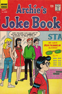 Cover Thumbnail for Archie's Joke Book Magazine (Archie, 1953 series) #104