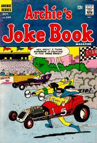 Cover Thumbnail for Archie's Joke Book Magazine (Archie, 1953 series) #105