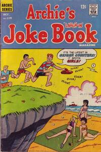 Cover Thumbnail for Archie's Joke Book Magazine (Archie, 1953 series) #129