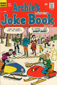 Cover Thumbnail for Archie's Joke Book Magazine (Archie, 1953 series) #156