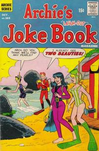 Cover Thumbnail for Archie's Joke Book Magazine (Archie, 1953 series) #165