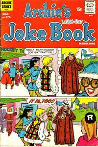 Cover Thumbnail for Archie's Joke Book Magazine (Archie, 1953 series) #170