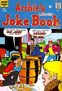 Cover Thumbnail for Archie's Joke Book Magazine (Archie, 1953 series) #181