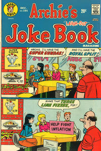 Cover Thumbnail for Archie's Joke Book Magazine (Archie, 1953 series) #191