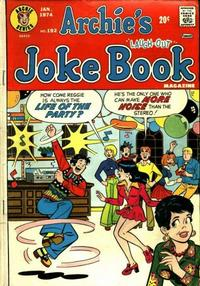 Cover Thumbnail for Archie's Joke Book Magazine (Archie, 1953 series) #192