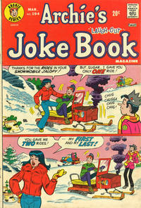 Cover Thumbnail for Archie's Joke Book Magazine (Archie, 1953 series) #194