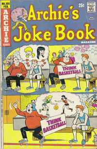Cover Thumbnail for Archie's Joke Book Magazine (Archie, 1953 series) #205
