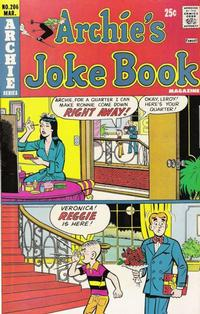 Cover Thumbnail for Archie's Joke Book Magazine (Archie, 1953 series) #206