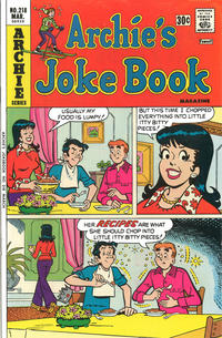 Cover Thumbnail for Archie's Joke Book Magazine (Archie, 1953 series) #218