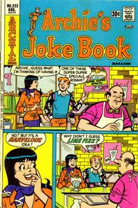 Cover Thumbnail for Archie's Joke Book Magazine (Archie, 1953 series) #223