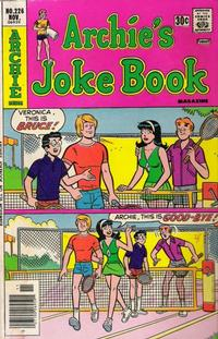 Cover for Archie's Joke Book Magazine (Archie, 1953 series) #226