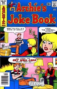 Cover Thumbnail for Archie's Joke Book Magazine (Archie, 1953 series) #227