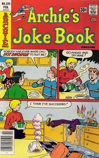 Cover Thumbnail for Archie's Joke Book Magazine (Archie, 1953 series) #229