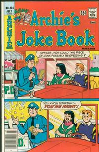 Cover Thumbnail for Archie's Joke Book Magazine (Archie, 1953 series) #234