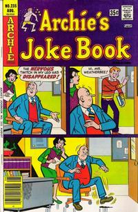 Cover Thumbnail for Archie's Joke Book Magazine (Archie, 1953 series) #235