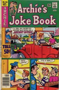 Cover Thumbnail for Archie's Joke Book Magazine (Archie, 1953 series) #236