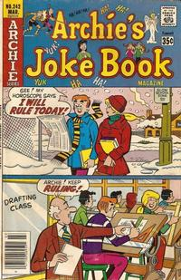 Cover Thumbnail for Archie's Joke Book Magazine (Archie, 1953 series) #242
