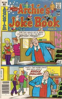 Cover Thumbnail for Archie's Joke Book Magazine (Archie, 1953 series) #244