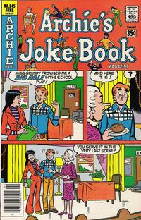 Cover Thumbnail for Archie's Joke Book Magazine (Archie, 1953 series) #245
