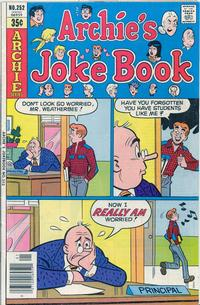 Cover Thumbnail for Archie's Joke Book Magazine (Archie, 1953 series) #252