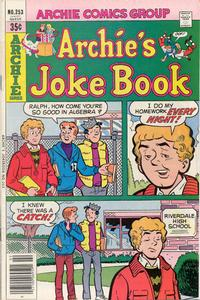 Cover Thumbnail for Archie's Joke Book Magazine (Archie, 1953 series) #253