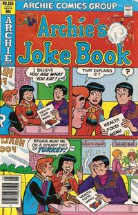 Cover Thumbnail for Archie's Joke Book Magazine (Archie, 1953 series) #256