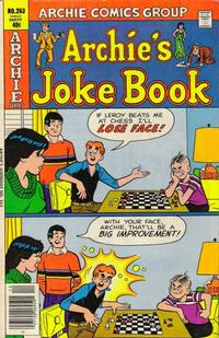 Cover Thumbnail for Archie's Joke Book Magazine (Archie, 1953 series) #263