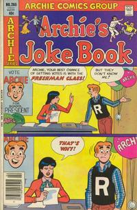 Cover Thumbnail for Archie's Joke Book Magazine (Archie, 1953 series) #265