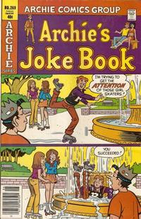 Cover Thumbnail for Archie's Joke Book Magazine (Archie, 1953 series) #269